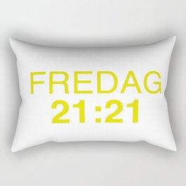21:21 - isak and even - SKAM Rectangular Pillow