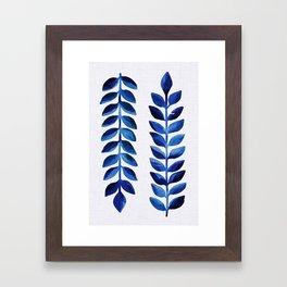 Tropical Indigo II Framed Art Print
