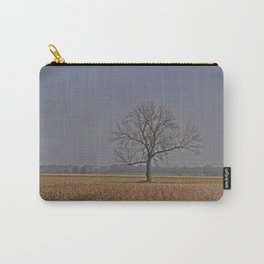 One Tree in a corn field Carry-All Pouch