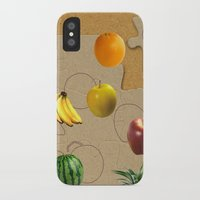 fruits iPhone & iPod Cases featuring Fruits by Nikolay Raikov