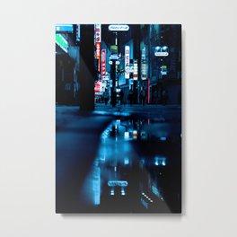 City Night Tokyo (Color) Metal Print