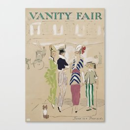 Vanity Fair Canvas Print