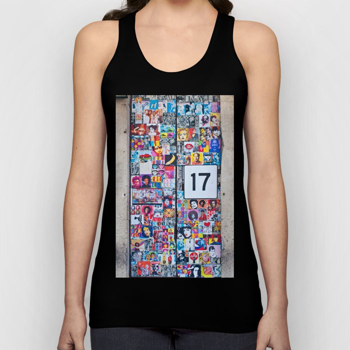 The Secret behind the Door Number 17 of Catania - Sicily Unisex Tank Top