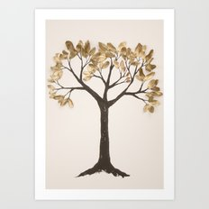 gold grows on trees Art Print