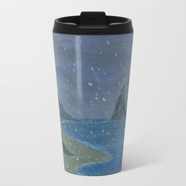 Let it snow, Moby ... Travel Mug