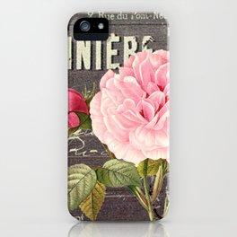 Vintage roses #1 iPhone Case