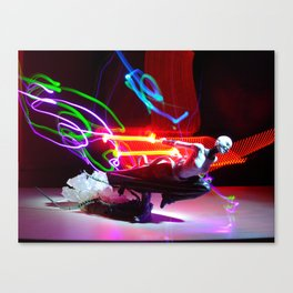 Asajj Ventress' lightsabers Canvas Print