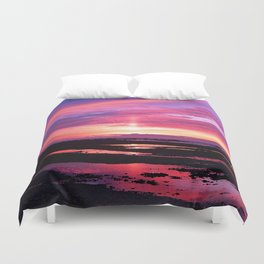 Red Haven Duvet Cover