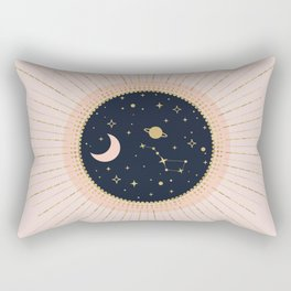 Love in Space Rectangular Pillow