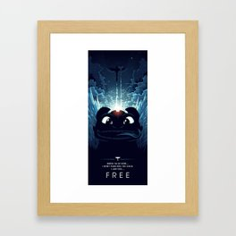 How To Train Your Dragon 2 - Freedom Framed Art Print