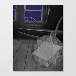 Overnight Canvas Print