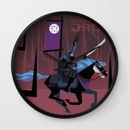 Last Ride of Samurai Jack Wall Clock