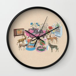 Black Panther and Friends Wall Clock