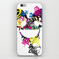 paramore iPhone & iPod Skins featuring Deadmau5 by Sitchko Igor