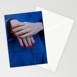 rhiannon's hands Stationery Cards