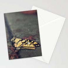 don't be afraid, it's only change Stationery Cards