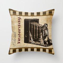Cherish Yesterday Throw Pillow