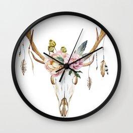 Animal Skull 09 Wall Clock