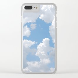 Cloud Scapes Clear iPhone Case
