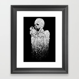 MUMMY's DUMMY Framed Art Print
