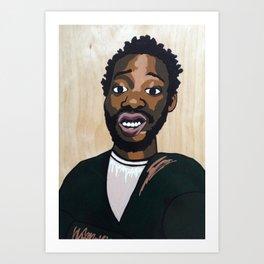 Ol Dirty Mona Art Print