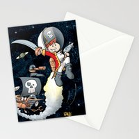 Space Pirate Gilly Stationery Cards