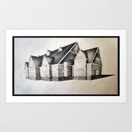 Deluxe Cape Art Print