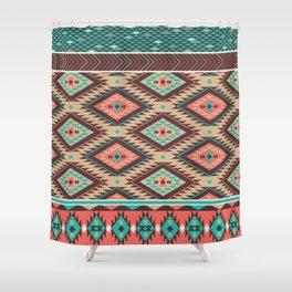 Aztec Summer Shower Curtain