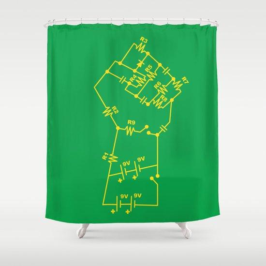 Re-Volt Shower Curtain