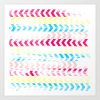 arrow Art Prints featuring Arrow by Louise Machado