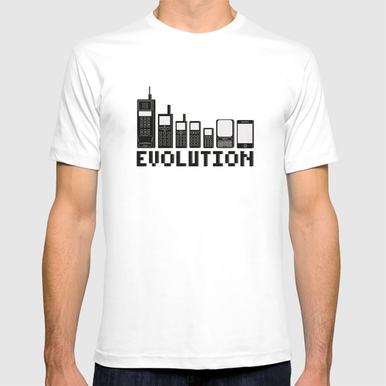 Cell Phone Evolution T Shirt By Wersns Society6