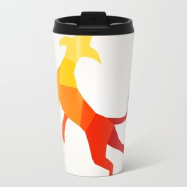 Abstract dog Travel Mug