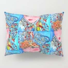 LUNA #society6 #decor #buyart My artwork is featured in MagCloud, Pink Panther Magazine, issue 25 Pillow Sham
