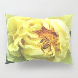 Yellow peony Pillow Sham