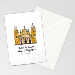 Basilica de Nuestra Senora de Chiquinquira Stationery Cards