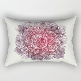 November Roses Rectangular Pillow