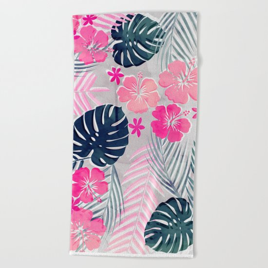 Tropical Summer Beach Towel