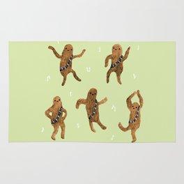 Wookie Dance Party Rug