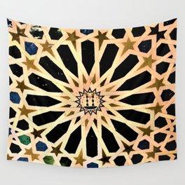 Azulejo de La Alhambra Wall Tapestry