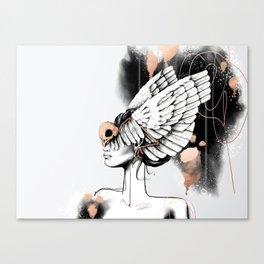Bird of Minerva Canvas Print