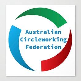 Australian Circleworking Federation Canvas Print