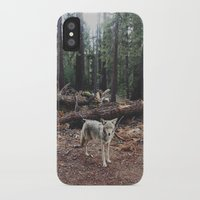 chinese iPhone & iPod Cases featuring Injured Coyote by Kevin Russ