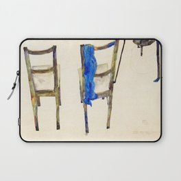 Egon Schiele - Chairs (new editing) Laptop Sleeve
