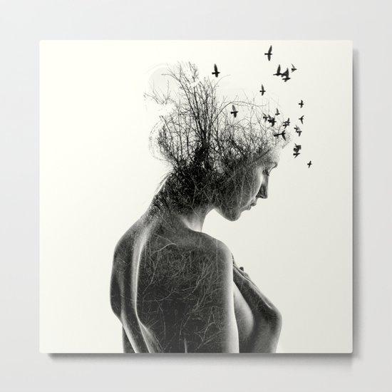 Nature Girl Metal Print