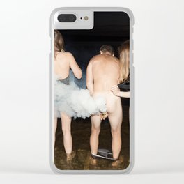 Kaboom! Clear iPhone Case