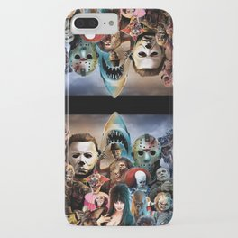 Horror Icons. iPhone Case