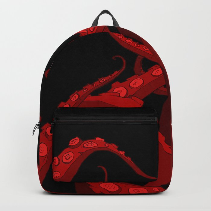 Subterranean Red Backpack