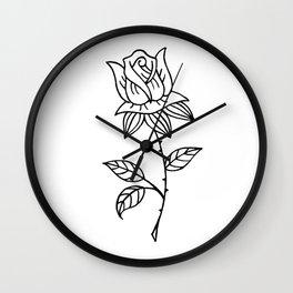Rose Up Wall Clock