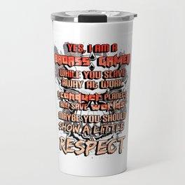 Gamer Respect Travel Mug