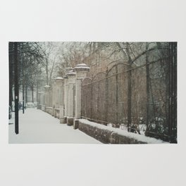 snow in wels (3) Rug